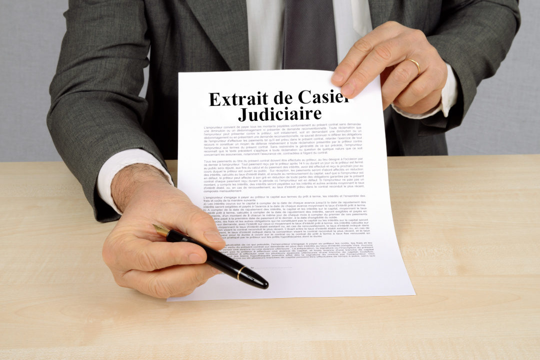 Le casier judiciaire